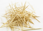 Wood toothpicks — Stock Photo