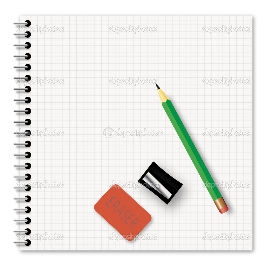 School supplies - vector illustration — Stock Vector #2502910