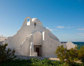 Old Paraportiani church on the Mykonos — Stock Photo