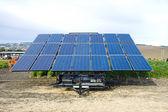 Solar cells panel — Stock Photo