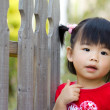 Cute little Asian Chinese girl — Stock Photo