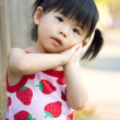 Little Asian Chinese girl — Stockfoto