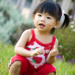 Little Asian Chinese girl — Stock Photo