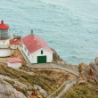Point Reyes lighthouse, California — Stock Photo