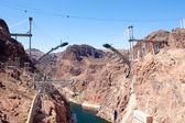 Bridge Construction At Hoover Dam — Stock Photo