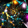Bright fractal — Stock Photo #1480386