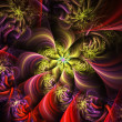 Bright fractal — Stock Photo #1480491