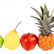 Royalty-Free Stock Photo: Group of fruits