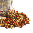 Stock Photo: Heap of spices isolated
