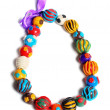 Stock Photo: Color hand made beads