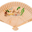 Asian hand fan — Stock Photo