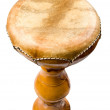 African drum isolated — Stock Photo