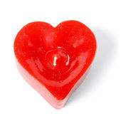 Heart candle — Stock Photo