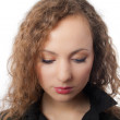 Young adult female with make-up isolated — Stock Photo #1340679