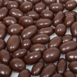 Stock Photo: Chocolate peanut background