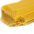 Pack of delicious spaghetti isolated — Stock Photo