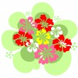 Royalty-Free Stock Vector Image: Flowers set.