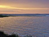 Sunset at the lake. — Stock Photo