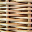 Wicker basket. Background. — Stock Photo