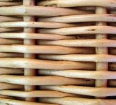 Wicker basket. Background. — Stock Photo