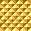 Seamless relief pyramid pattern. — Stock Vector
