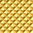Stockvektor : Seamless relief gilt pattern.