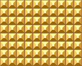 Seamless relief golden pattern. — Stock Vector