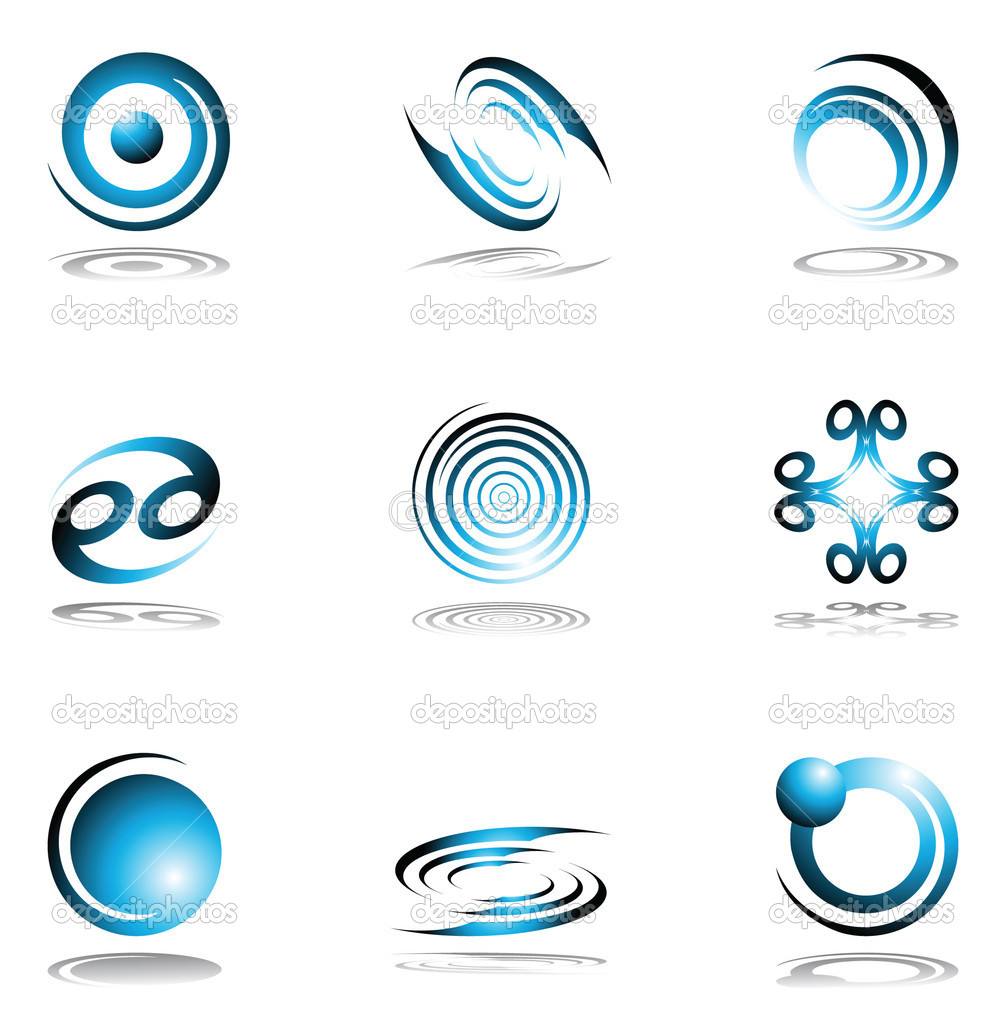 Design elements set. Vector editable images. — Stock Vector #1493303