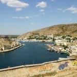 View over Balaklava Bay, Crimea, Ukraine — Stock Photo #1336508