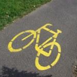 Bicycle Road — Stock Photo