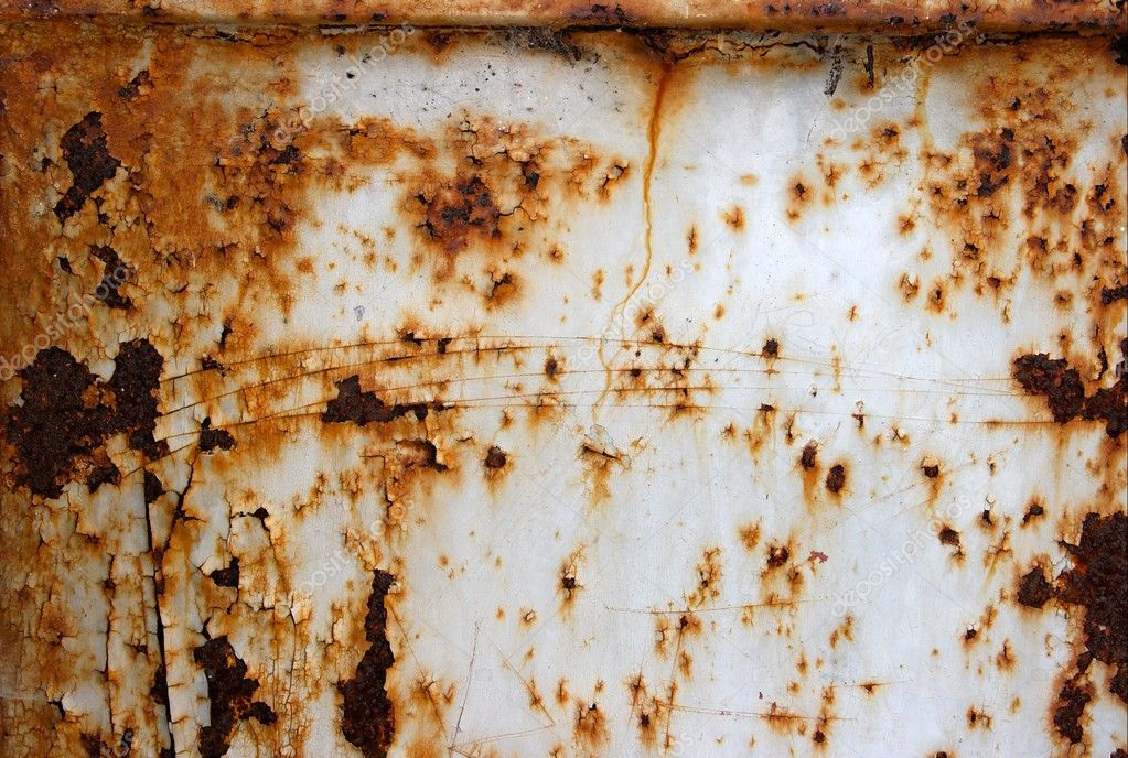 Very rusty old metal surface — Stock Photo #1336805