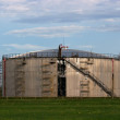 Stock Photo: Oil Silo