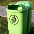 Royalty-Free Stock Photo: Dustbin