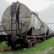Silo wagons — Stock Photo