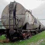 Silo wagons — Stock Photo