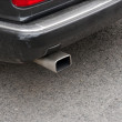 Exhaust Pipe - Stock Photo