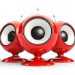Stock Photo: Speakers