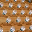 Foto Stock: Electric bulbs on board