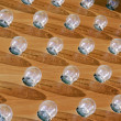 Stock Photo: Electric bulbs on board