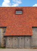 WC of 18 century house — Stock Photo