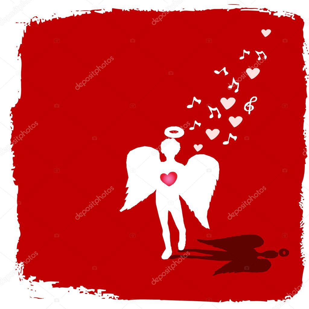 valentine angel clipart - photo #48