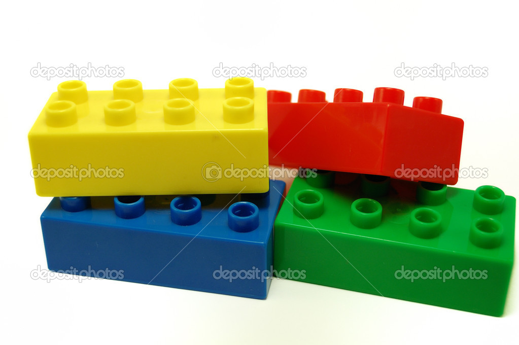 Toy build blocks — Stock Photo #1326063