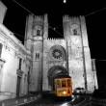Lisabonské tramvaj — Stock fotografie