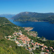 View on Orta Lake — Stock Photo