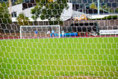 Soccer goal — Stock Photo