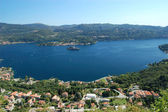 Summer View on Orta Lake — Stock Photo