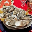 Stock Photo: Fresh oyster appetizer