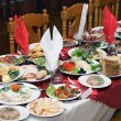 Russian feast — Foto Stock