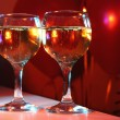 Two glasses - Stock Photo