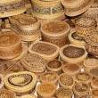 Products from a birch bark — Stock Photo